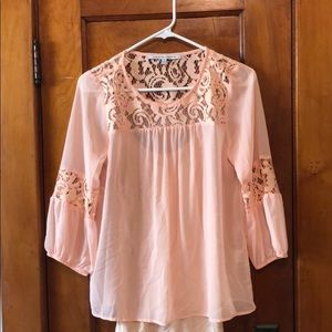 Beautiful blush blouse from Stitch Fix
